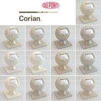 Corian Beige Seamless Countertops