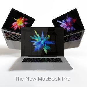 macbook pro 2016 3d 3ds