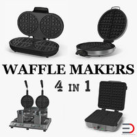 3D waffle makers