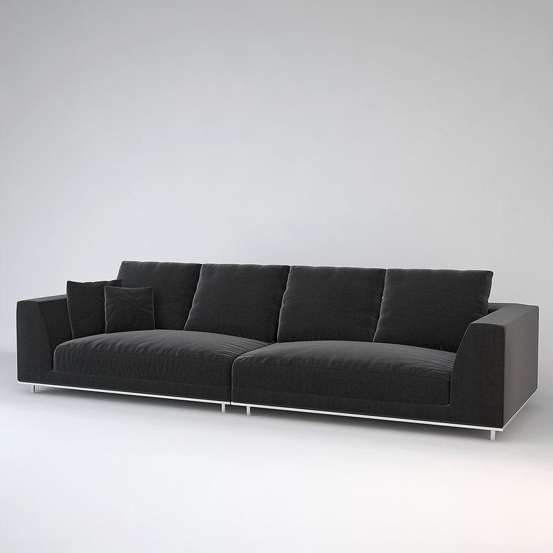 eichholtz sofa marlon 3d max