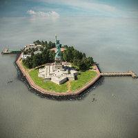 Liberty Island Scene
