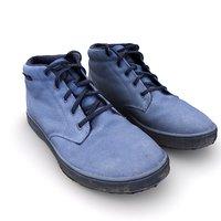 3D model scan fiveten dirtbag shoes