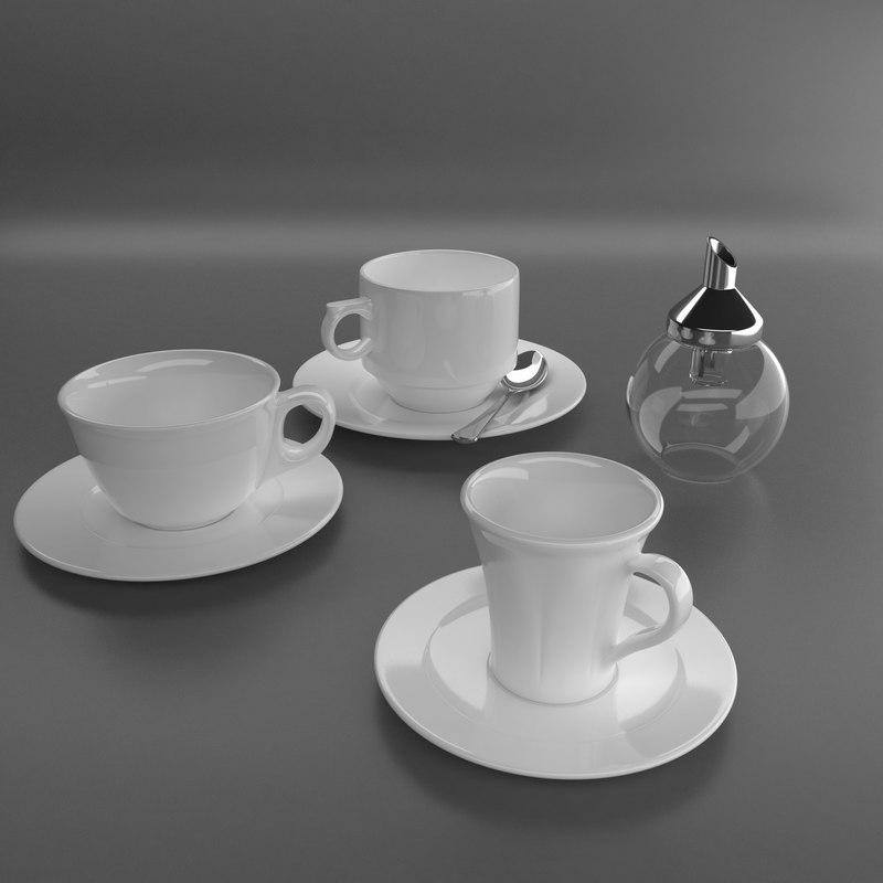 set cups saucers max