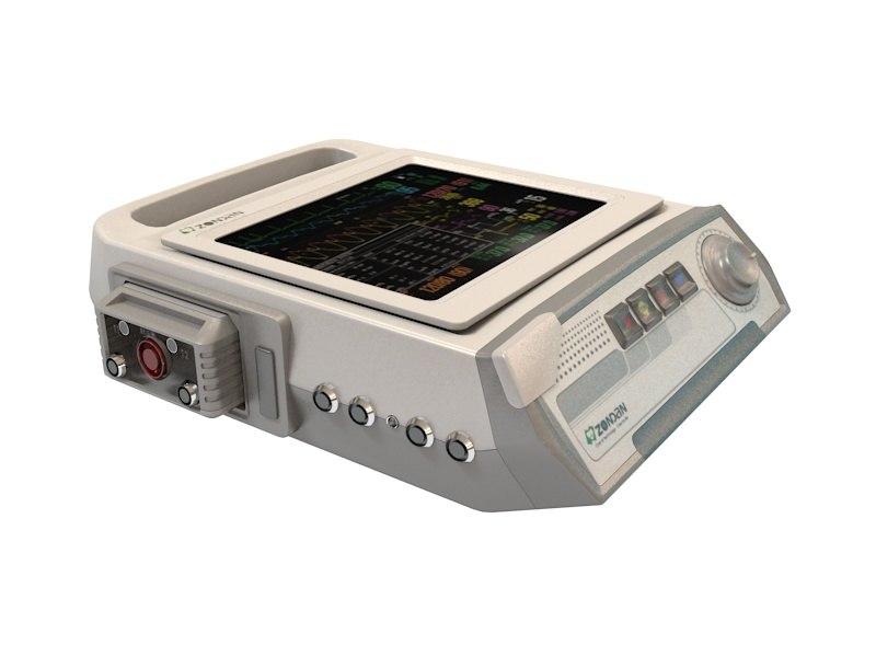 3d fetal monitor lateo
