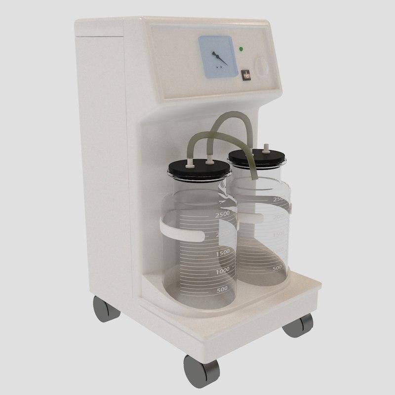 3d model aspirator rochen