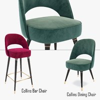 Collins Dining chair and Collins Bar Chair