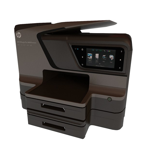 3d model hp officejet pro 8600