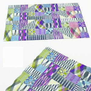 3d carpet missoni home model