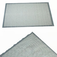 carpet missoni home 3d model