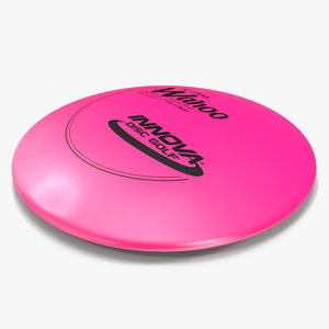 3d flying disc modeled