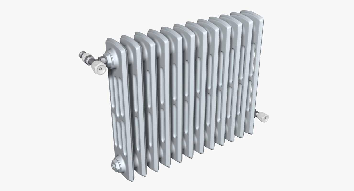 classic heating radiator 3D model