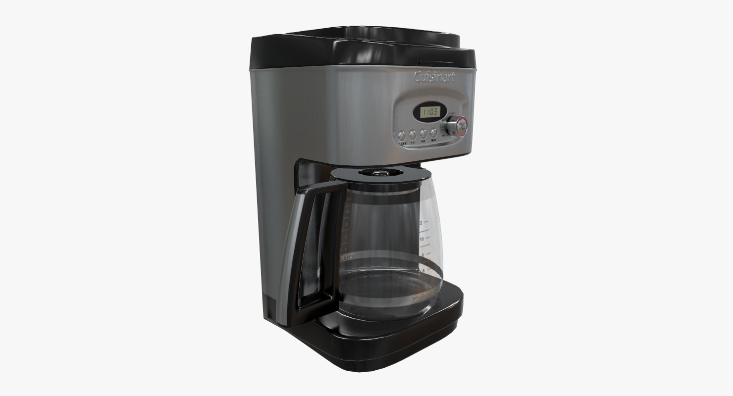 3d Coffee Maker Cuisinart Turbosquid 1226018