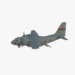 3d model c-27j spartan