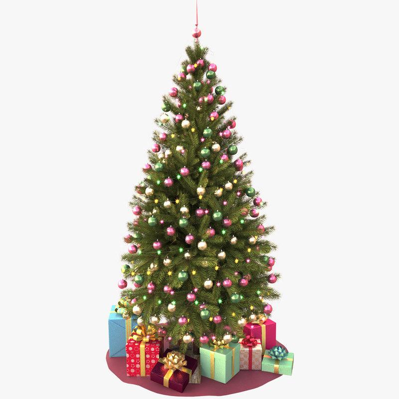 christmas tree v3 3d model