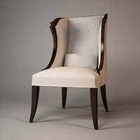 3d christopher guy armchair 30-0060
