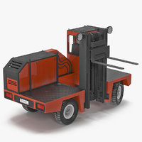 max loading forklift truck red