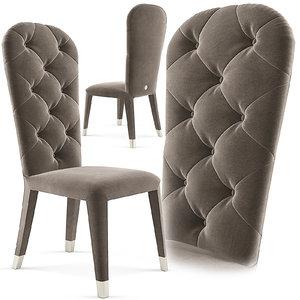 cantori liz chair 3d model