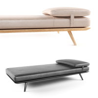 spine daybed 3d max