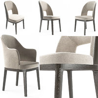 3d model chairs judit flexform