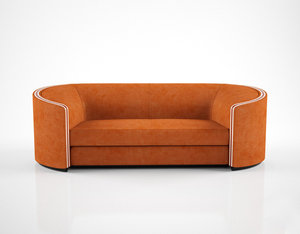 holly hunt edie sofa 3d max