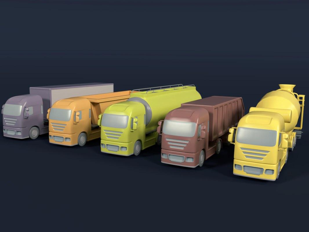 obj container trucks