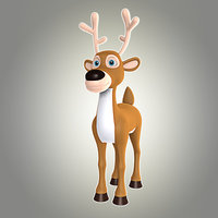 cartoon deer 7