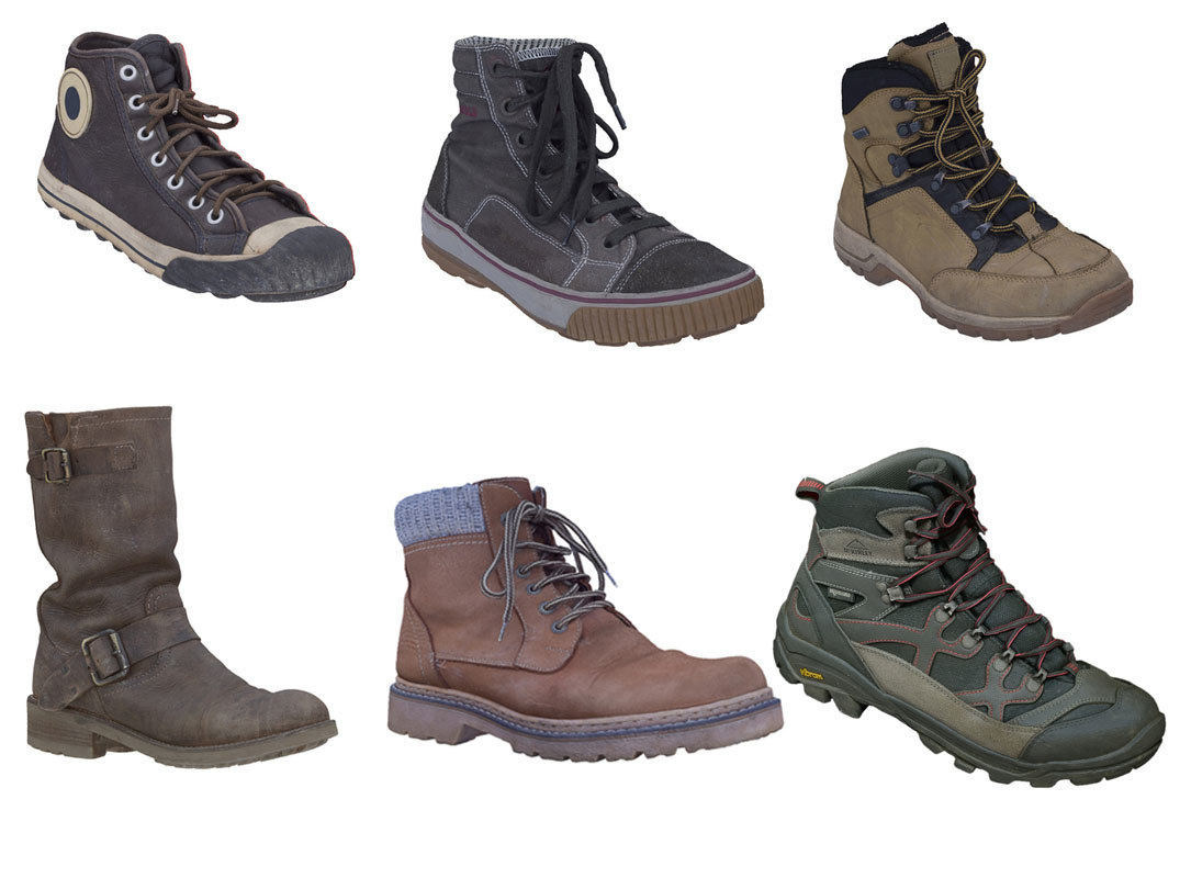 scanned boots 3ds