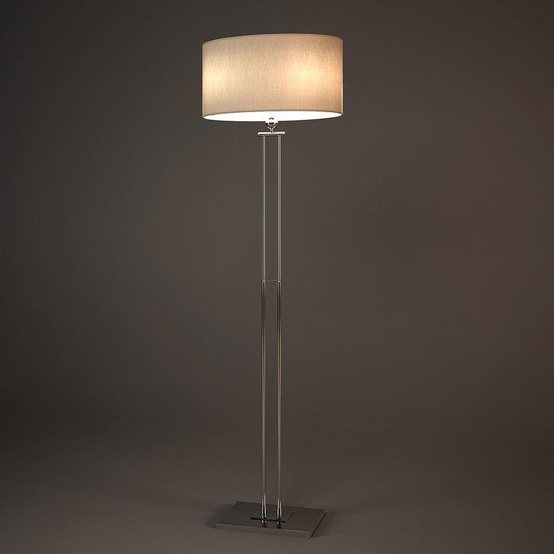 chelsom plaza floor lamp 3d max
