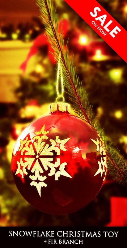 3d model christmas toy snowflake