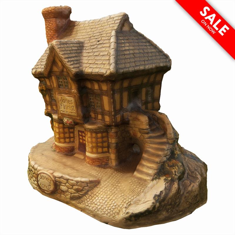 souvenir house 3d model