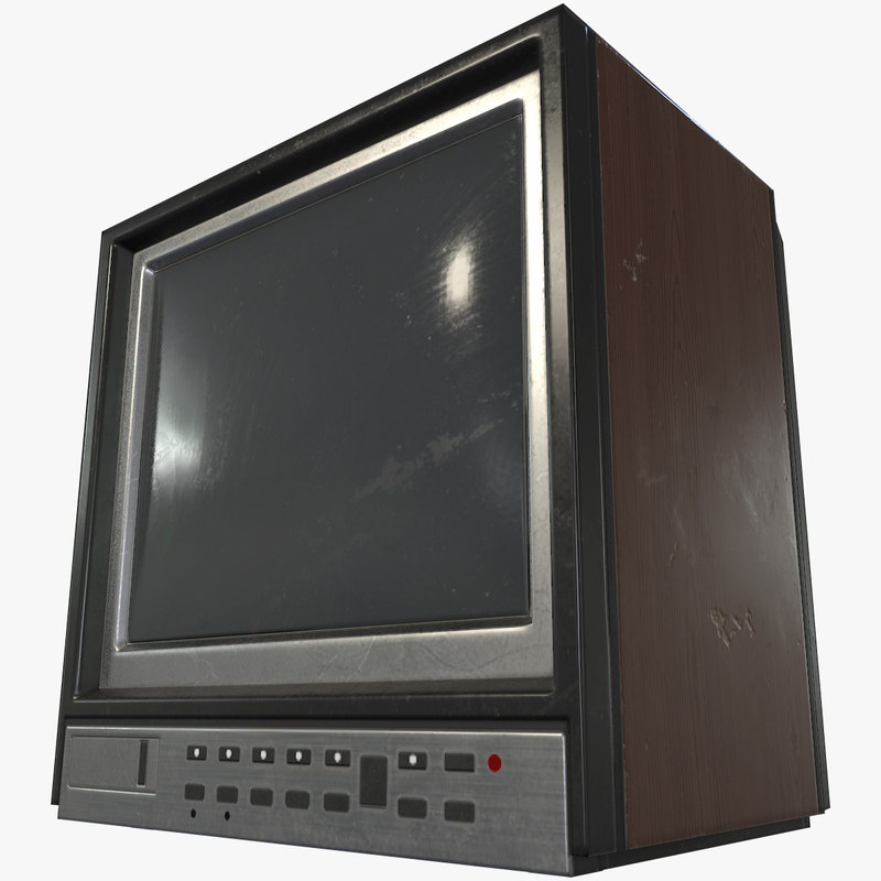 old tv 3d max