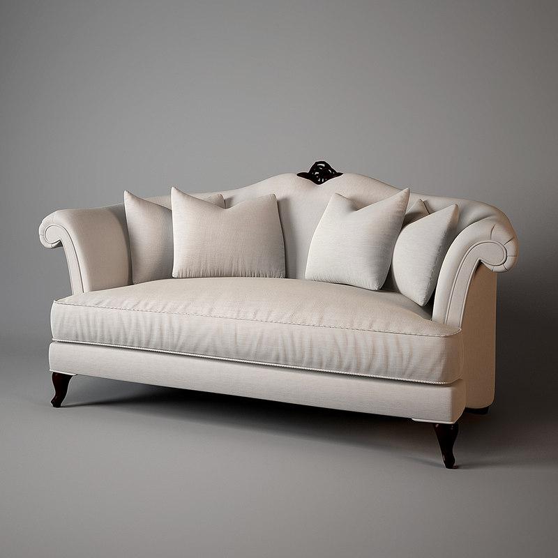 sofa love seat 3d max