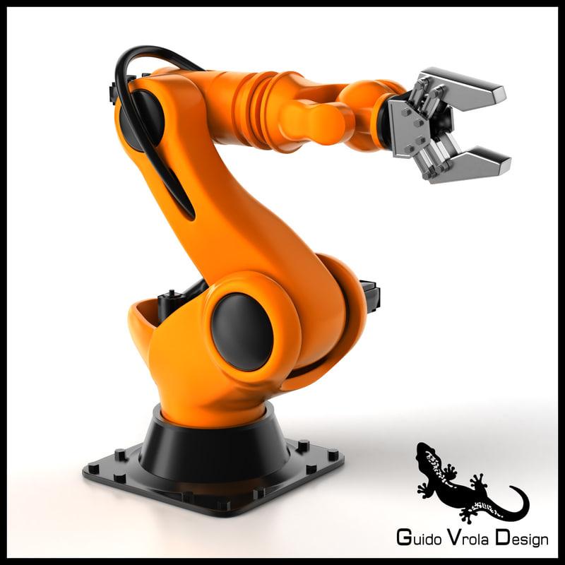 industrial robot 3ds