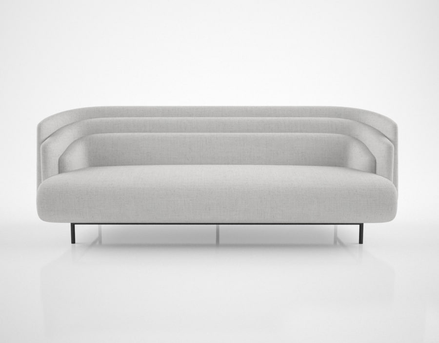 christophe delcourt hug sofa 3d model