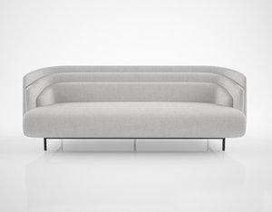 christophe delcourt hug sofa 3d model