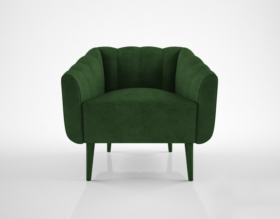 3d model munna houston armchair