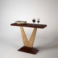 christopher guy table verity 3d model