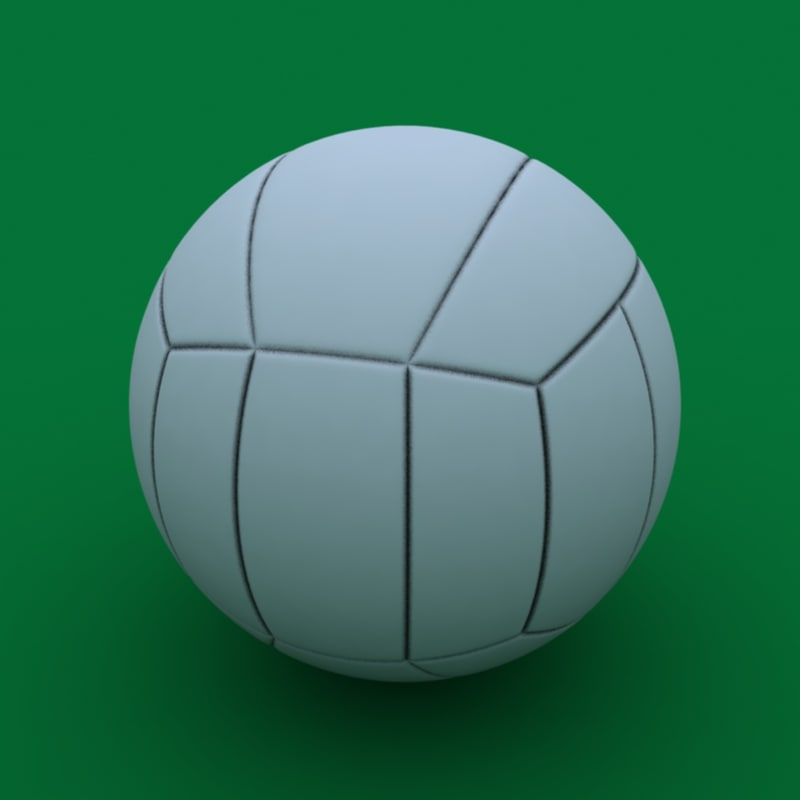 obj volleyball volleying ball