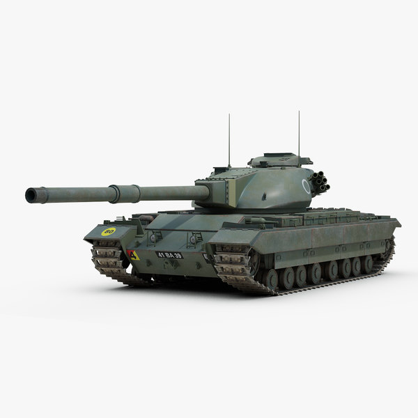 3d post conqueror heavy tank model