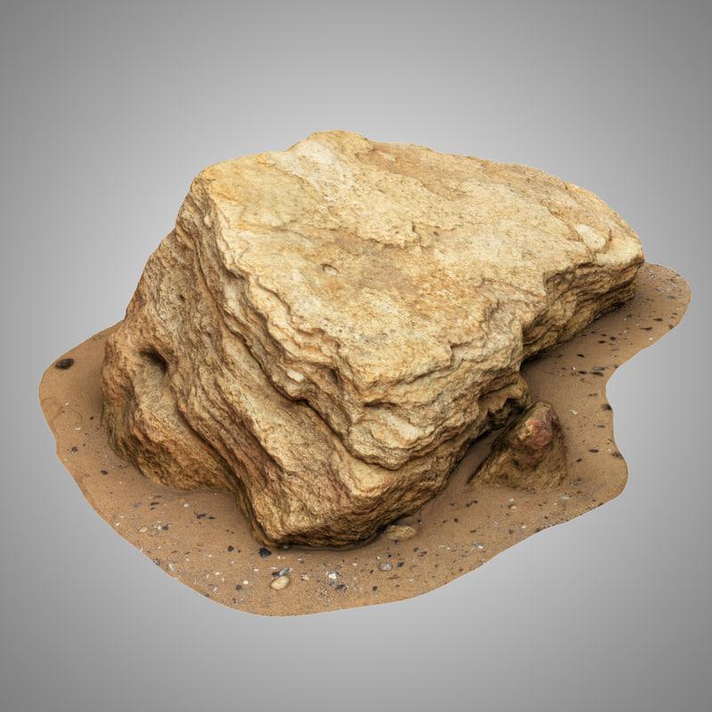 limestone 2 3D model