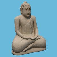 buddha stone 3D