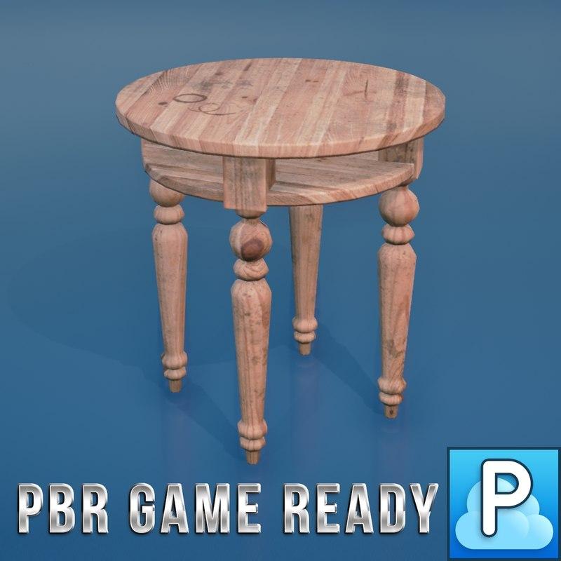 3d ready tables model
