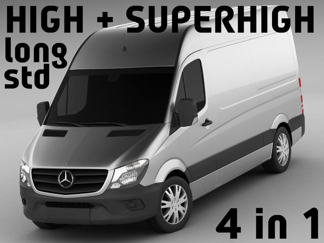 3d model of superhigh long