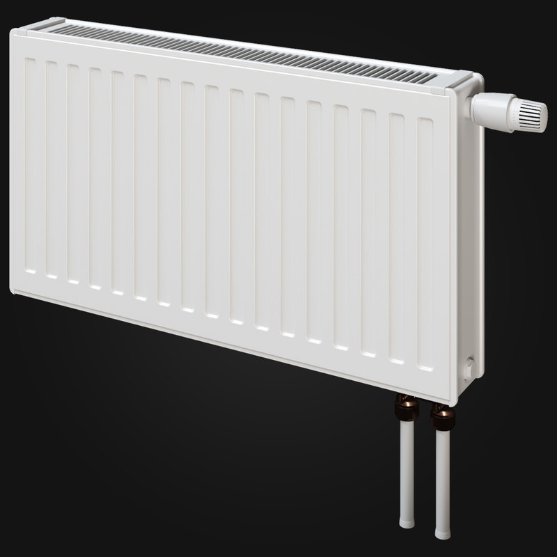 3d heating radiator model