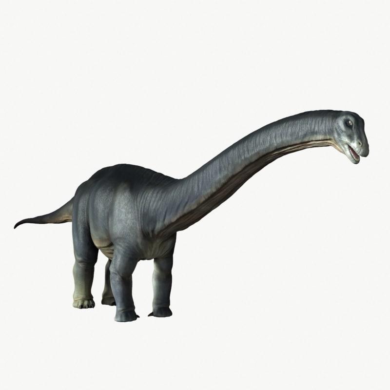 apatosaurus obj