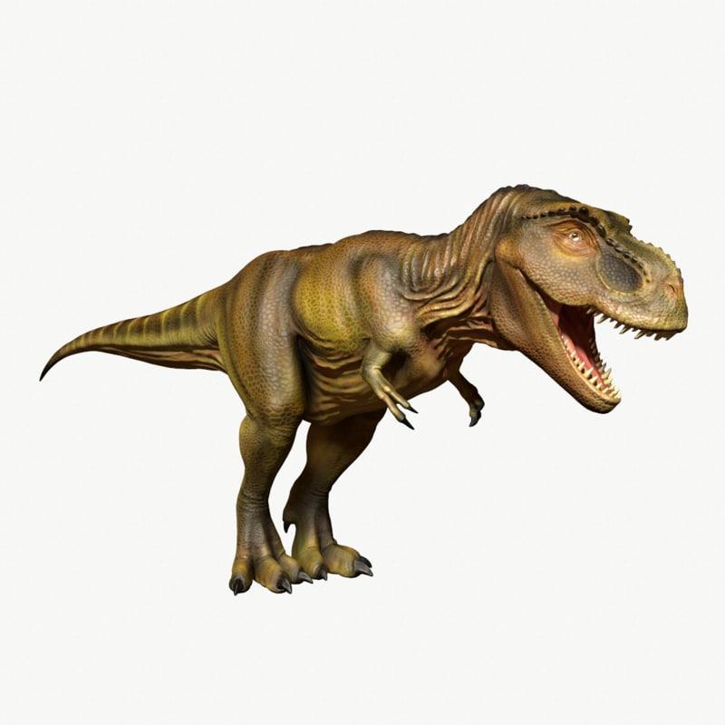 3d tyrannosaurus rex model