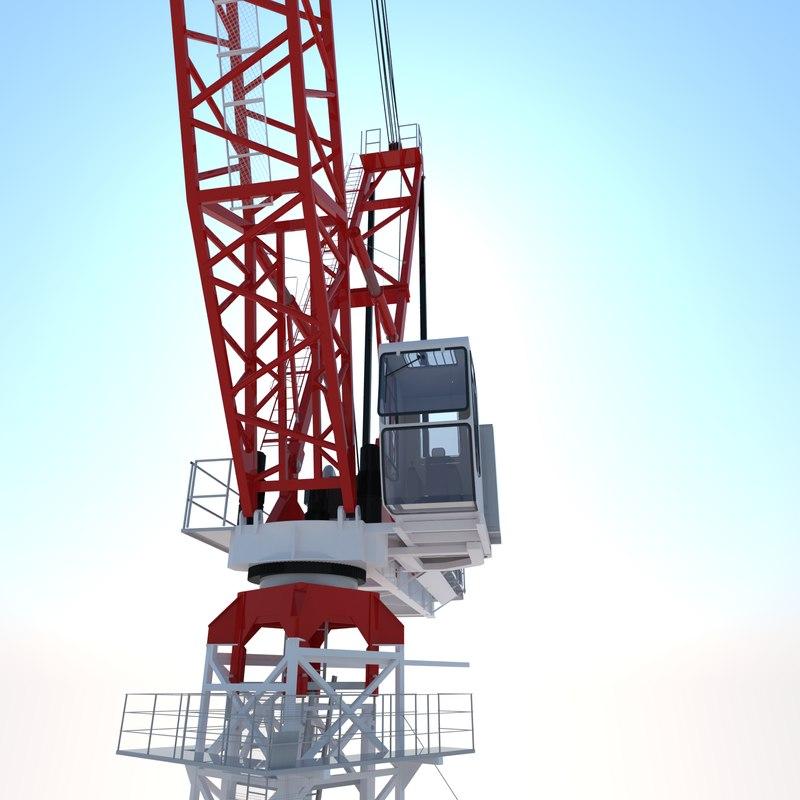 liebherr crane 3d max