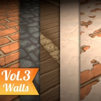 Texture Set Vol.03 Hand Painted Walls
