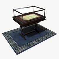 display case 3d model