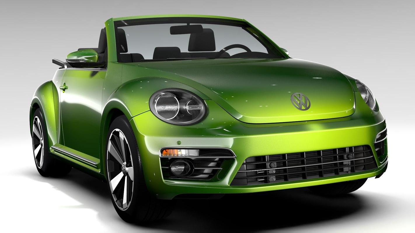 beetle convertible turbo 2018 model